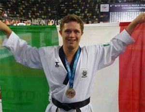Para Taekwondo, Oro per Federico Fricano