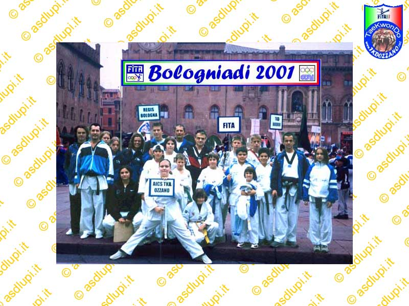1a Manifestazione delle Bologniadi 2001