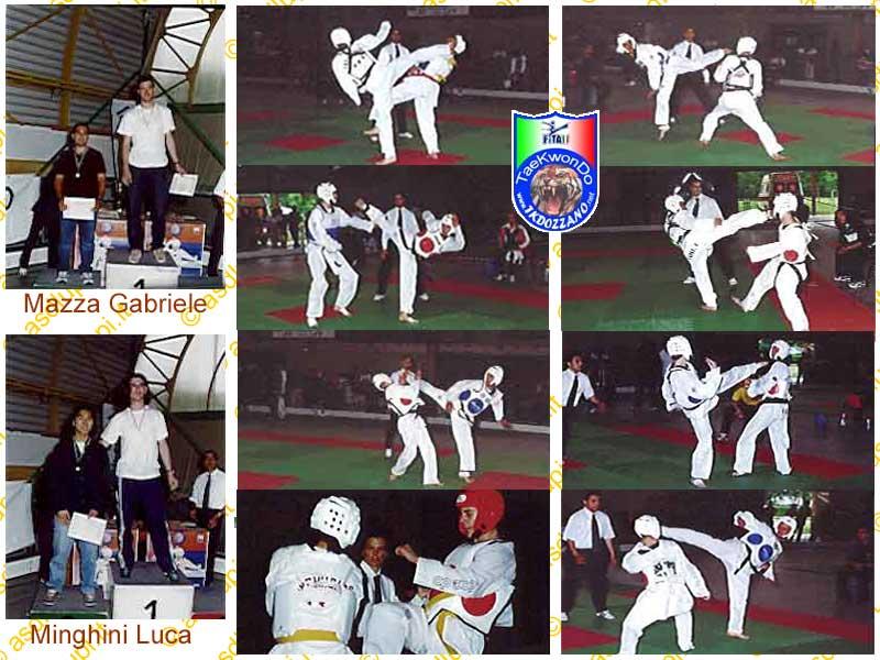 Gara di Combattimento Taekwondo a Riccione