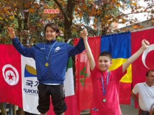 20160417 Omar Hamasse sul podio di Calcara