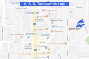 Palestre A. S. D. Taekwondo Lupi - De Amicis