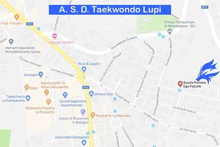 Palestre A. S. D. Taekwondo Lupi - Ugo Foscolo